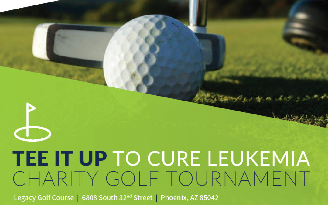 Charity golf tourney to help battle leukemia tees off Sept. 29