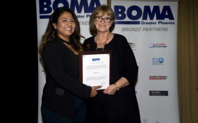 Property management industry leader Karen Piper receives BOMA Greater Phoenix Lifetime Achievement Award