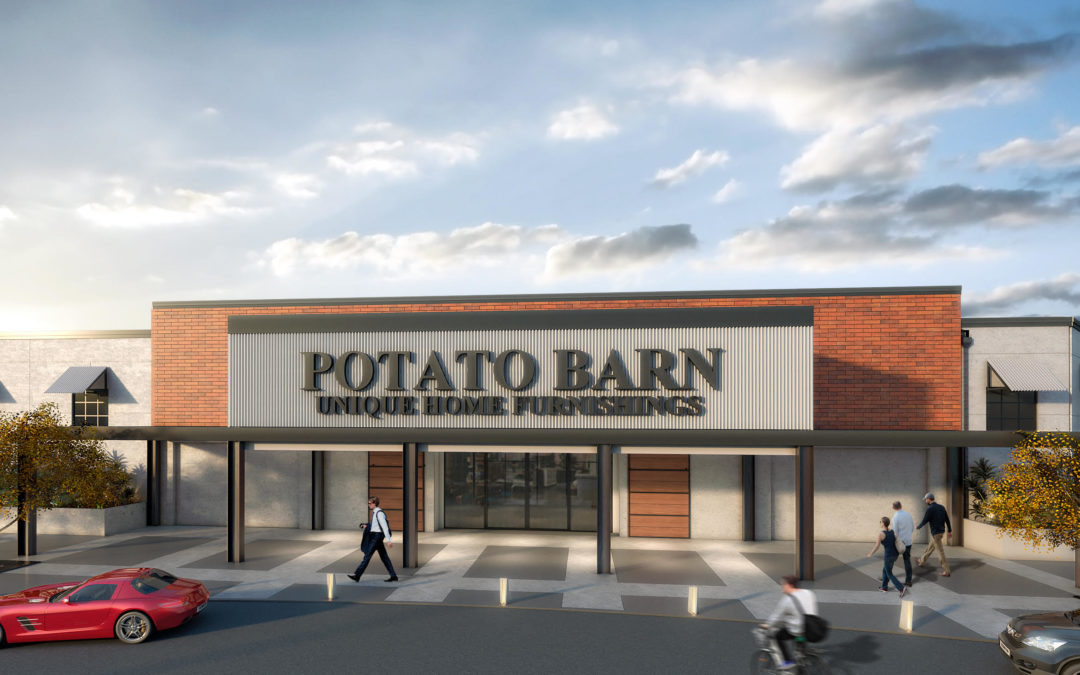 Sigma Contracting, Inc. breaks ground on 100,000 SF warehouse, outlet for Potato Barn