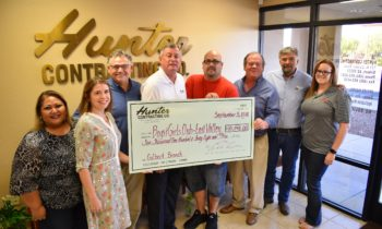 Hunter Contracting Co. aces its 28th annual charity golf tournament, raising more than $20,000 for a pair of youth organizations