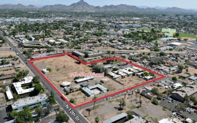 NAI Horizon negotiates $7M sale of largest multifamily-zoned private land holding in Central Phoenix to Scottsdale firm