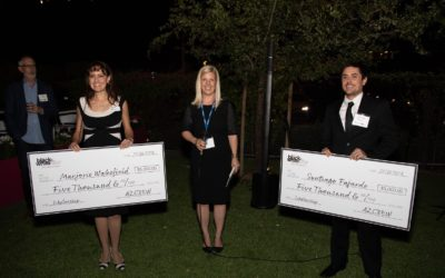 AZCREW presents $10,000 in 'Dollars for Scholars' to pair of ASU MRED students