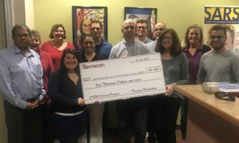 Terracon's Tucson office presents S. Ariz. Research, Science, and Engineering Foundation with $5,000 board grant