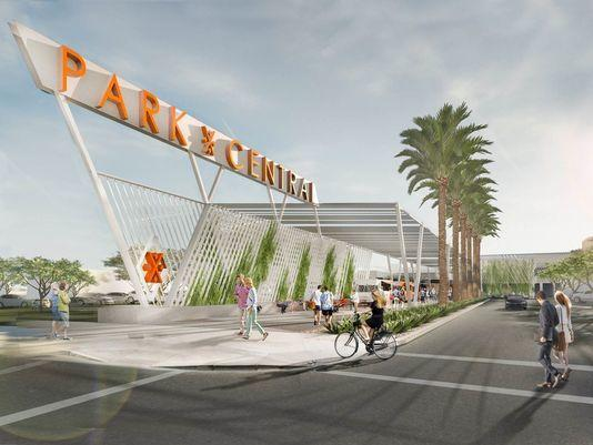 AZCREW takes a stroll through 'The New  Park Central' in Phoenix for its February lunch