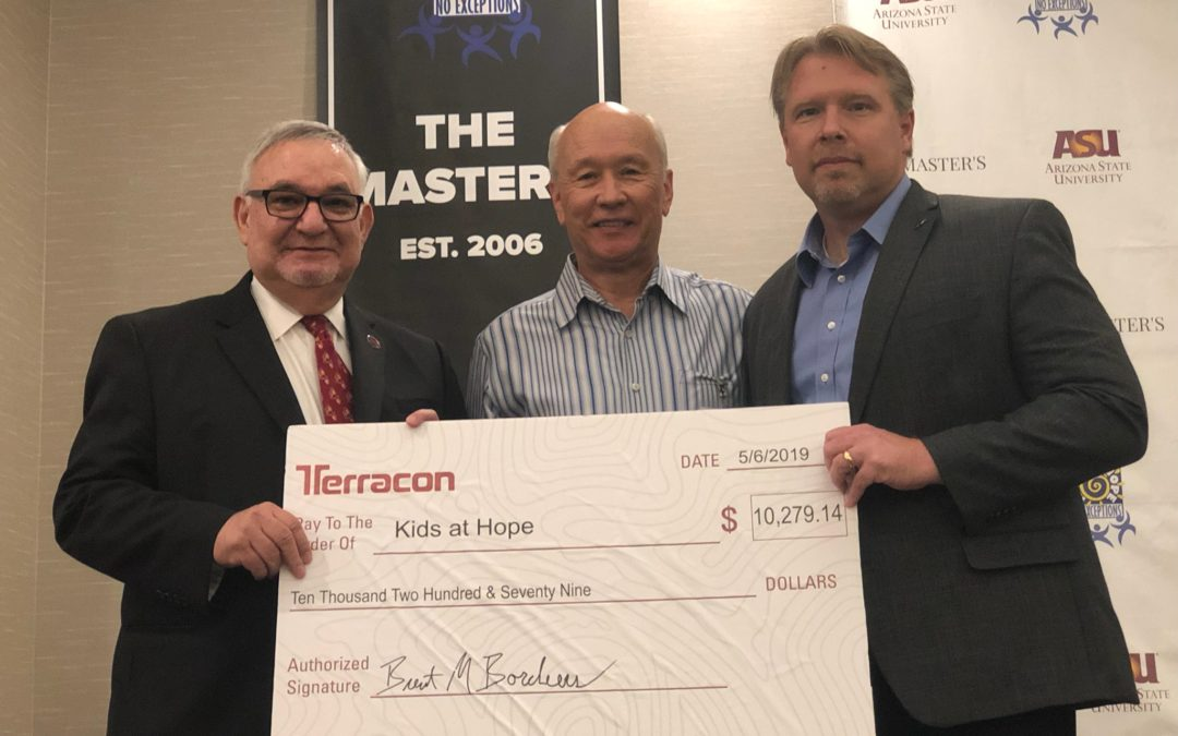 Terracon's golf tournament raises $10,000 for Valley youth empowering group Kids at Hope