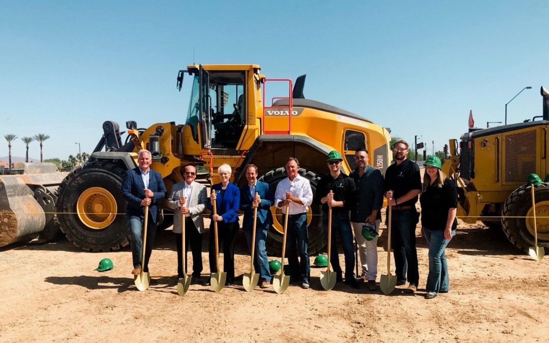 Developer breaks ground on Village at Pebble Creek, Goodyear single-family rental community