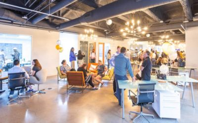 The option of coworking office space  on the menu at September 17 AZCREW luncheon