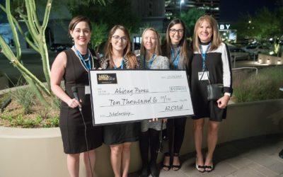 AZCREW presents $10,000 scholarship to MRED student  Abby Perez at annual event