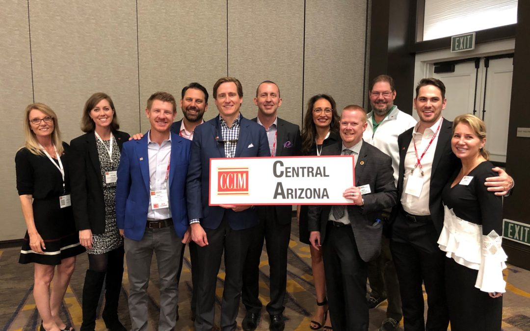 CCIM Central Arizona chapter leads way with 8 commercial professionals to earn designation