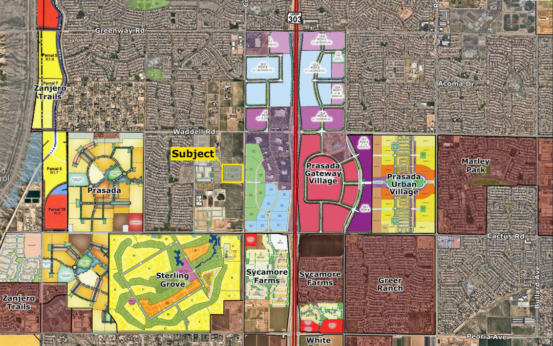 Land Advisors Organization Scottsdale arranges sale of 23-acre, 245-lot site in Surprise for $3.65M