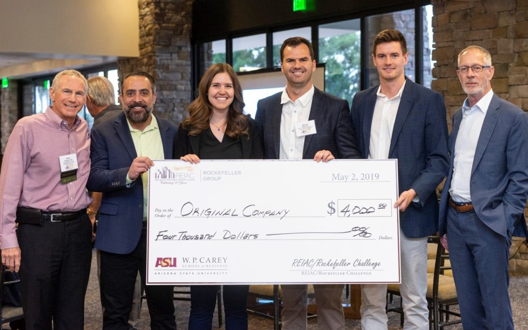 ASU students test their development acumen in 1st 'Zoomed' REIAC/Rockefeller Challenge