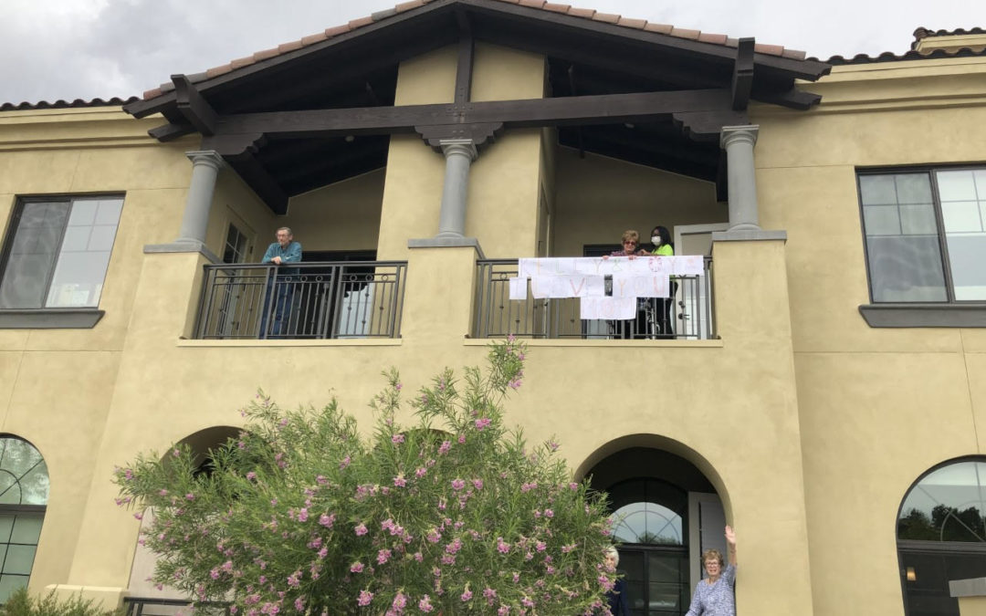 LivGenerations Pinnacle Peak showers moms with love, parade and roses on Mother's Day