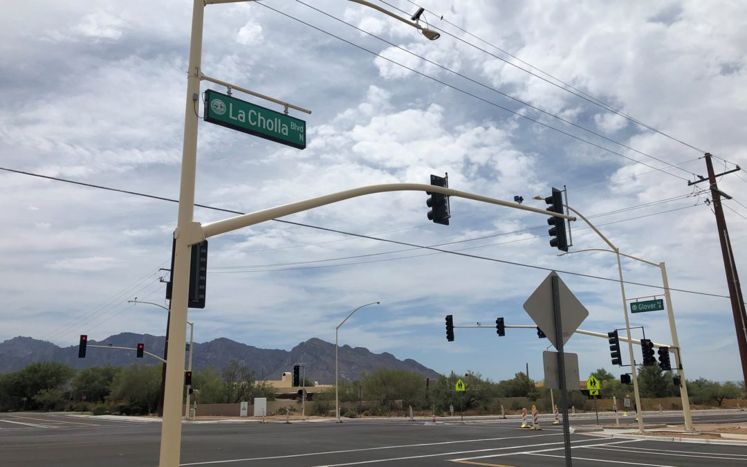 Hunter Contracting Co. putting finishing touches on $22.5M roadway widening in Oro Valley, AZ
