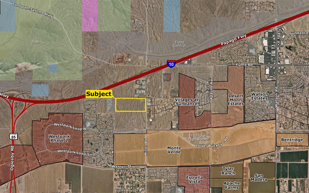 Land Advisors Organization's Metro Phoenix team closes on 70-acre site in East Buckeye for $6.65M