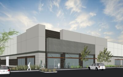 Marwest Enterprises announces ground-breaking of Landing 3, new 525,000 SF industrial complex near Phoenix-Mesa Gateway Airport