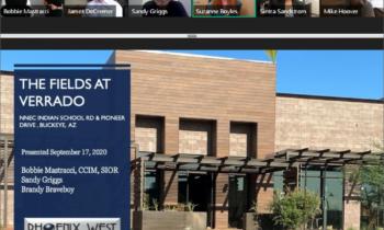 Phoenix West Commercial professionals showcase Fields at Verrado as part of WESTMARC's West Valley virtual tour
