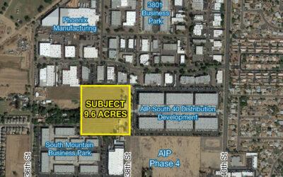 NAI Horizon negotiates $4.15M land sale of property that will house 135,000 SF flex building