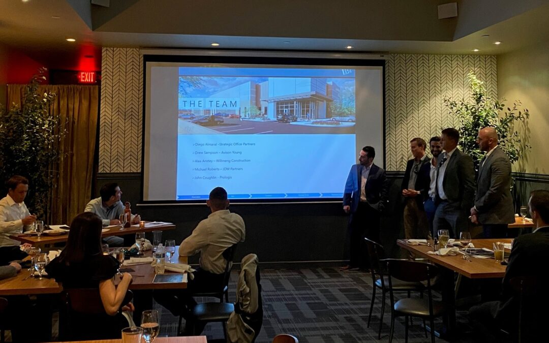 NAIOP Arizona Developing Leaders Young Professionals cap year with team competition