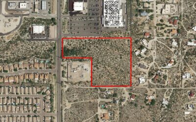 Nunez Self Storage Group at NAI Horizon represents buyer in negotiating investment land sale of 10.4 acres in Tucson