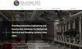 Solutions AEC continues its growth, market  presence with refreshed, updated website