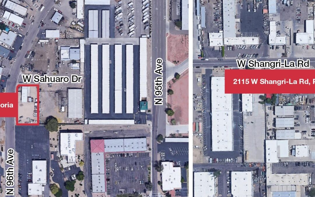 NAI Horizon represents Valley junk removal business in 2 leases at Phoenix, Peoria buildings