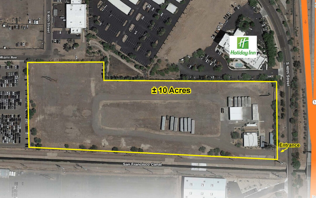 NAI Horizon represents seller in $4.57M disposition of 10 acres of land for industrial development in Sky Harbor submarket