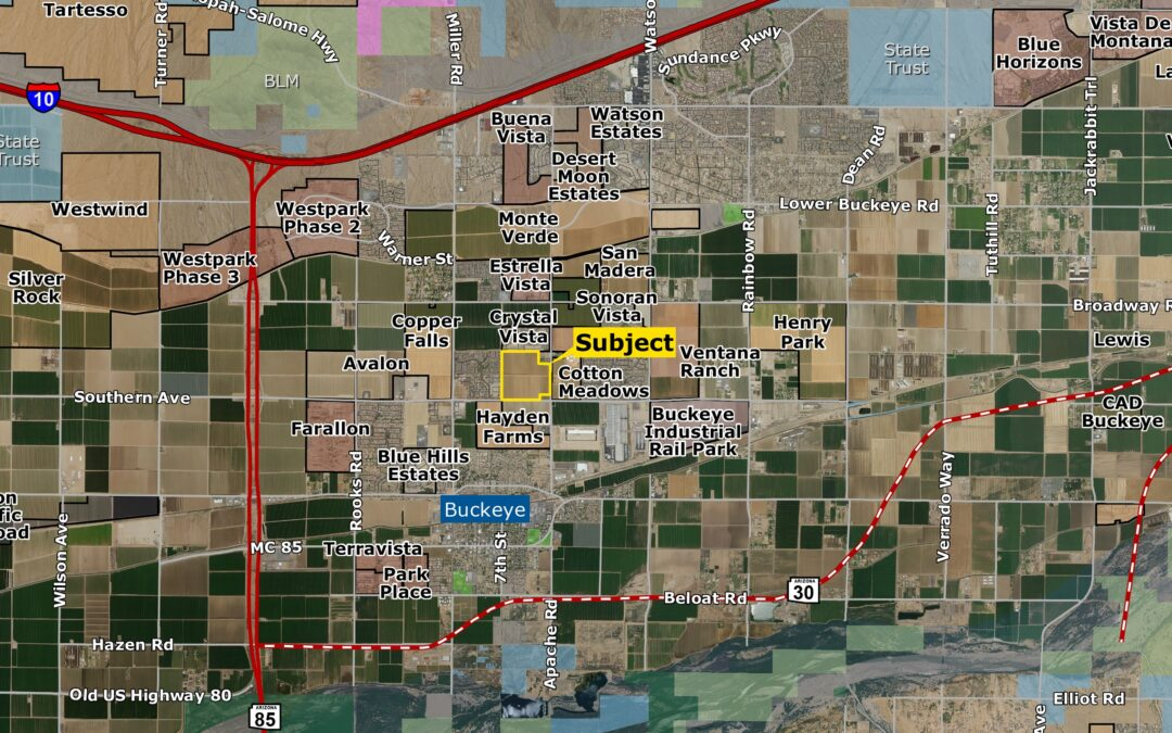 KB Home Acquires Two Large Land Parcels Totaling $9.2M for 109 Acres in the West Valley