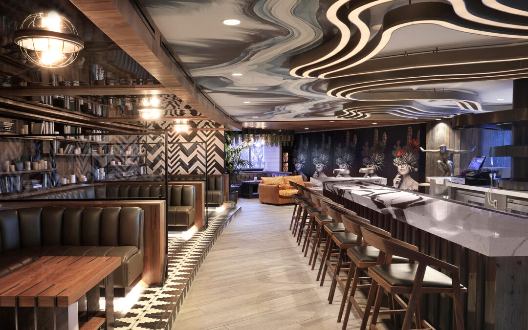 Sigma Contracting completes $3M interior remodel of iconic W Scottsdale hotel with expansion of 2nd-floor entertainment areas