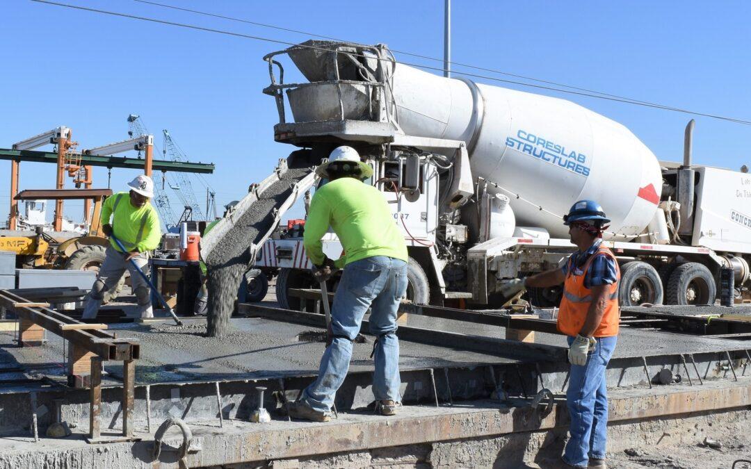 Coreslab Structures utilizing CarbonCure technology that lowers concrete's carbon footprint while enhancing project quality