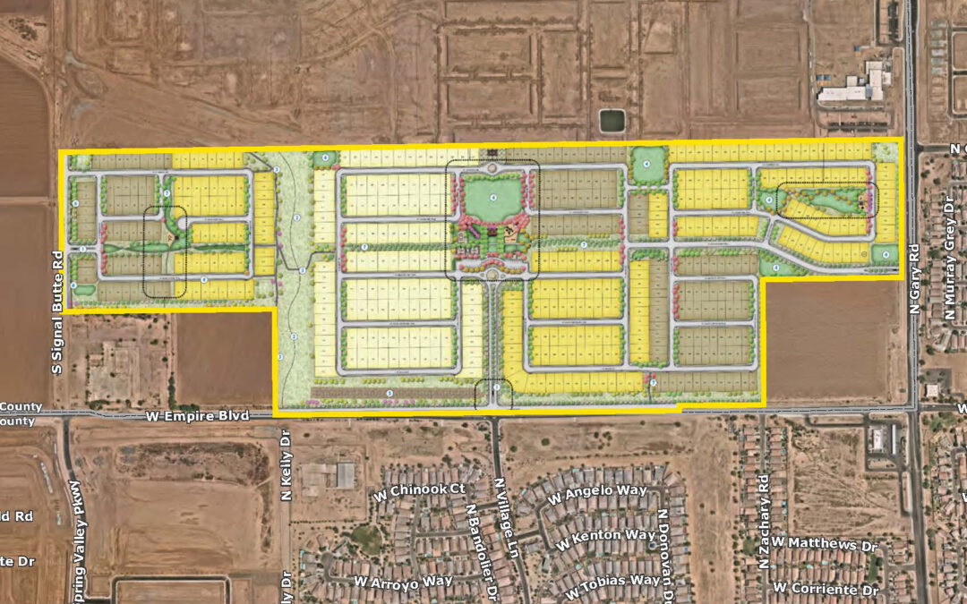 Mattamy Homes acquires 85 acresin Queen Creek for $15.5M, the first of two phases