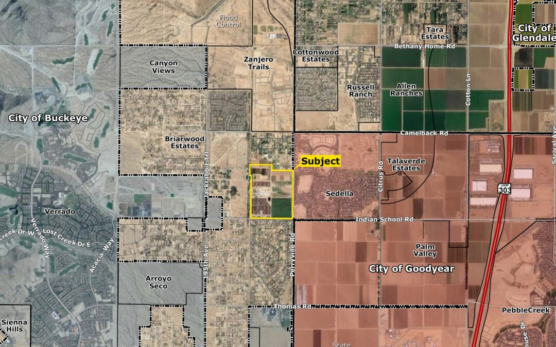 Fulton Homes purchases 187 acres, plans 675 lots on a county island in the bustling West Valley