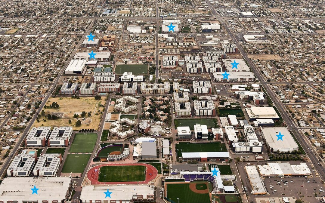 Phoenix-based Coreslab Structures and PONO Construction celebrate 10 years of teaming up to bring 9 high-caliber projects to GCU campus