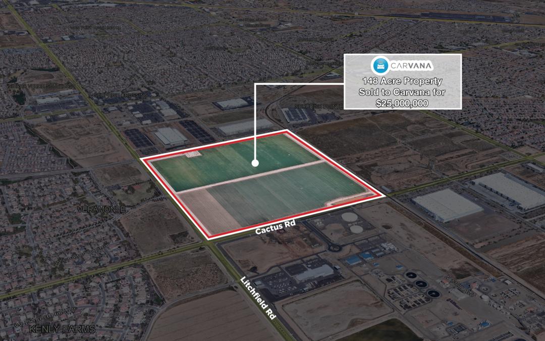 NAI Horizon negotiates $25M land purchase in Surprise on behalf of Tempe-based Carvana