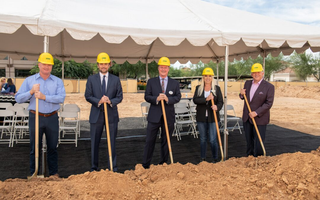 Construction begins at Acoya Shea, a new luxury senior living community in heart of Scottsdale