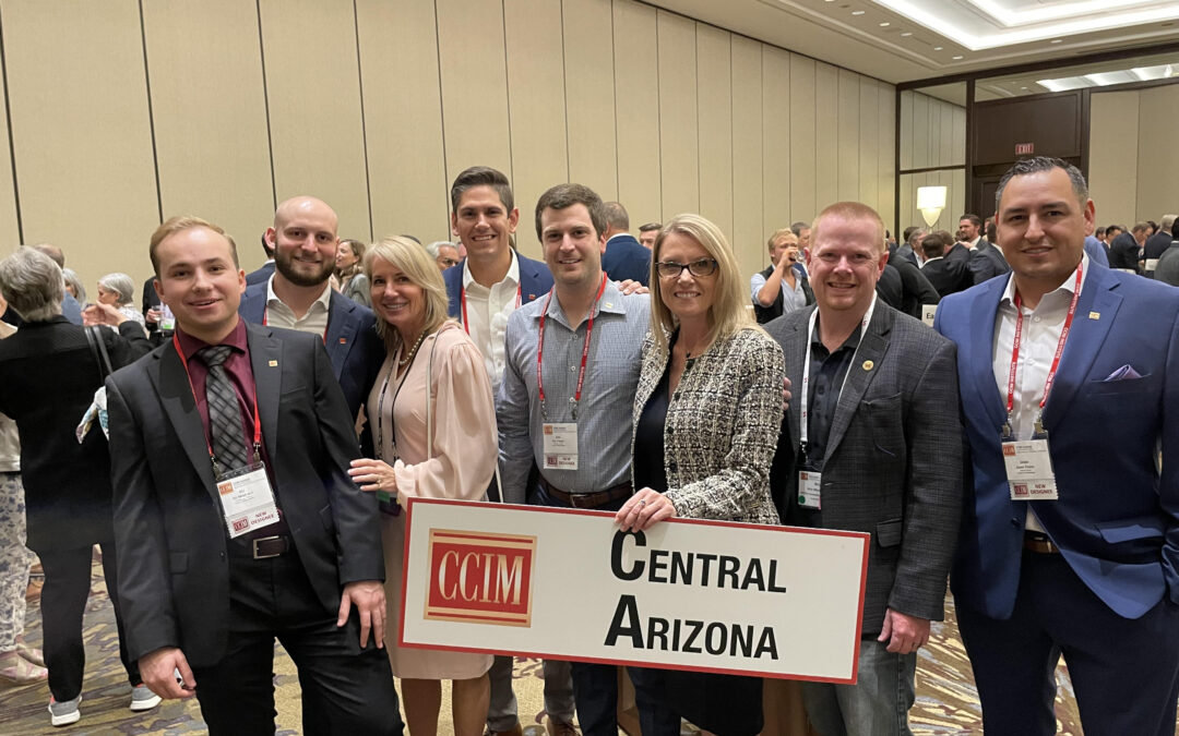 CCIM Central Arizona and Southern Arizona chapter designees 'pinned' at national event