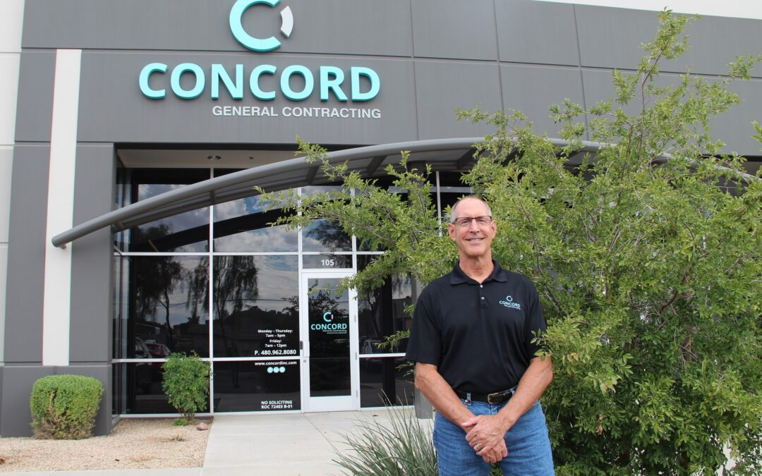 Industry veteran Dale Marr oversees change of leadership at Concord General Contracting